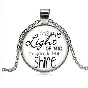 New This Little Light of Mine Necklace Cabochon